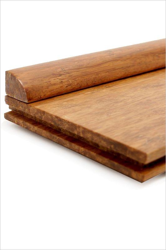 Quart de rond bambou densifi ambre ecoligne bambou for Table quart de rond