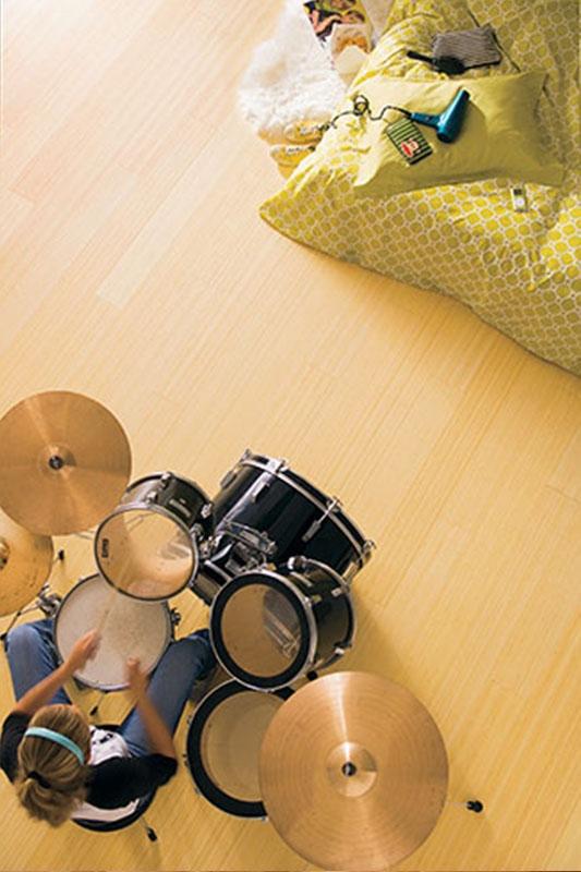 parquet bambou massif vertical naturel ecoligne bambou. Black Bedroom Furniture Sets. Home Design Ideas