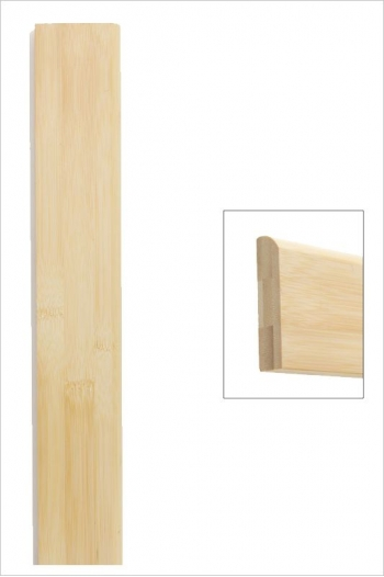 Plinthe bambou horizontal naturel