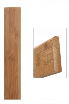 Plinthe bambou horizontal ambre