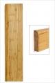 Plinthe bambou densifié naturel