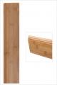 Plinthe bambou large horizontal ambre