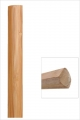 Quart de rond bambou horizontal ambre