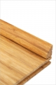 Quart de rond bambou densifié naturel