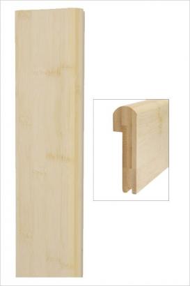 Nez de marche bambou horizontal naturel