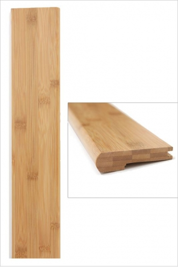 Nez de marche bambou horizontal ambre