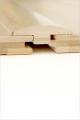 Barre de seuil bambou horizontal naturel