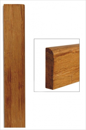 Plinthe bambou densifié ambre