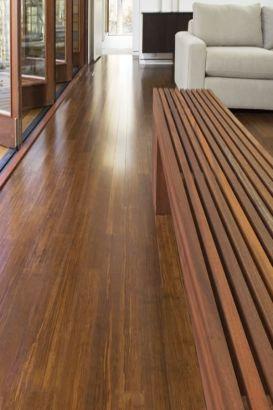 Parquet bambou large flottant densifié ambre