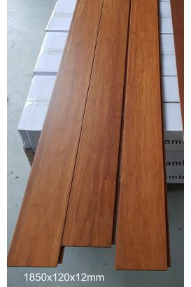 Parquet bambou large flottant densifié ambre 12mm