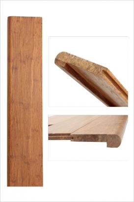 Nez de marche bambou densifié ambre