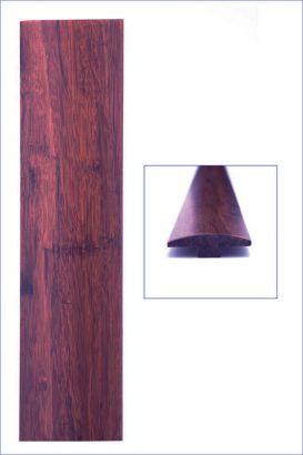 Barre de seuil bambou densifié ambre