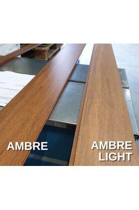 Parquet bambou large flottant densifié ambre light